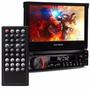 Dvd Retrátil Multilaser Tv Gps Cd Bt Extreme Tela 7 Camera
