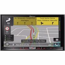Central Pioneer Avic F70 Tv Carplay Gps Cam Ré Tv Bluetooth