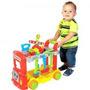 Bloco De Montar Atividades P/bebê Brick Truck Colorido Maral
