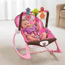 Cadeirinha Infância Sonho Rosa Vibratoria X7032 Fisher Price