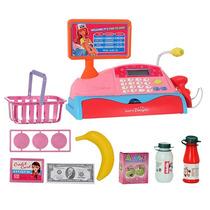 Caixa Registradora Infantil Com Som E Luz E Acessorios