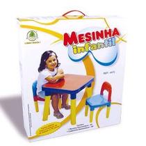 Mesinha Infantil Mesa Com Cadeira Monte Líbano - Imperdível!