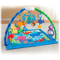 Tapete Centro Atividade Ginásio Fundo Mar Bebê Fisher Price