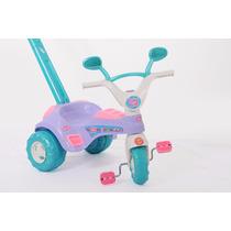 Triciclo Baby Aleve Velotrol Sons De Buzina C/ Haste