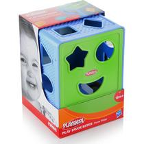 Cubo Com Formas Pedagógico Playskool Hasbro 00322