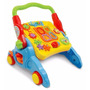 Andador P/ Bebê 4 Em 1 C/ Som Mesa Multi Atividades Colorida