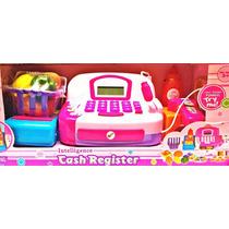Caixa Registradora Infantil Com Calculadora E Microfone