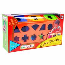 Brinquedo Caixa Encaixa - Pim Pam Pum - Estrela