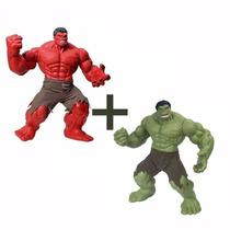 Kit Hulk Vermelho E Hulk Verde Premium Mimo