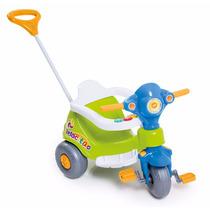 Motoca Tico Velocita Verde Calesita Carrinho Infantil