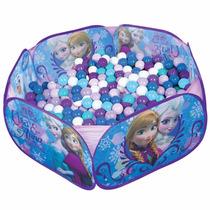 Piscina De Bolinhas Infantil Frozen C/100 Bolinhas Zippytoys