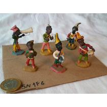 Bonecos De Barro Argila Ceramica - Maracatu Usados Recife