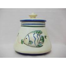 B. Antigo- Caixa Ou Pote Em Cerâmica Para Banheiro Ou Lavabo