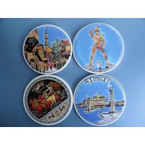 4 Lindissimo Porta Copos Em Ceramica Da Grecia