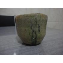 Cerâmica Raku - Copo Com Detalhes De Árvore - Lindo-único!!!