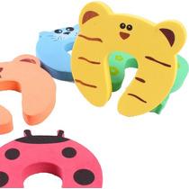 Kit 3 Protetores De Porta Para Bebês E Crianças - Bichinhos
