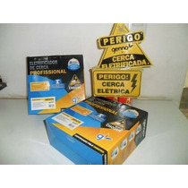 Kit Cerca Eletrica 90 Mts -alarme+controle Remoto+discadora