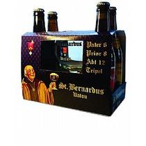 Kit Cerveja Belga St Bernardus 4und 1 Taça