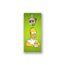 Abridor De Garrafas Magnético Para Parede, Imã, Homer