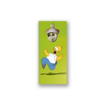 Abridor De Garrafa Magnético Para Parede, Imã, Homer Simpson