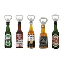 5 Abridores De Garrafa Heineken Budweiser Corona Jack Stella