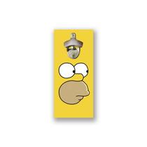 Abridor De Garrafas Magnético Para Parede, Com Imã, Homer