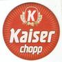 Bolacha Chopp - Kaiser Chopp - Logo Raiado