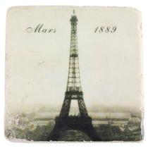 Porta Copos Em Resina Torre Eiffel Março 1889 Oldway