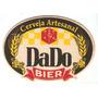 Bolacha De Chopp - Cerveja Dado Bier - Artesanal