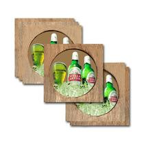 Conjunto 6 Porta-copos Stella Artois No Gelo