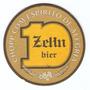 Bolacha Chopp - Cervejaria Zehn Bier - Dourada