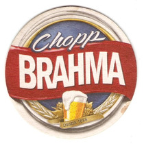 Bolacha De Chopp - Chopp Brahma - Caneco Grande