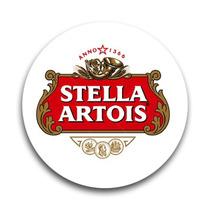 Conjunto Bolacha Porta-copos Stella Artois Em Cortiça 06pçs