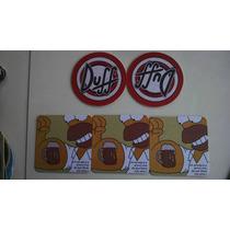 Bolachas Duff Simpson Homer Kit 5 Pçs