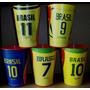 Brahma - Copos Comemorativos Dos 5 Títulos Do Brasil-5 Copos