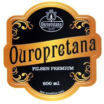 Rotulo Cerveja Colecionavel - Antigo E/ou Atual- Ouropretana