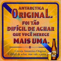 16043 - Placa Decorativa -bebida Cerveja Antarctica Original