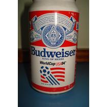 Lata De Cerveja Budweiser Copas Do Mundo - Clubes , Samba