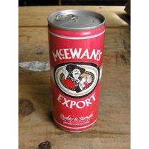 Latão Cerveja Mc. Ewans Export - Escócia- Cheia -1990