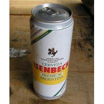 Latão Cerveja Isenbeck - Argentina- Cheia -1999