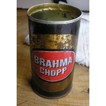 Lata Antiga De Ferro - Brahma Choop - Para Colecionador