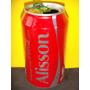 Lata Coca-cola Zero Nomes Alisson - 2015 Rexam N102