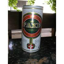 Latão De Cerveja Faxe - 1 Litro - Cheia - Linda Peça!!!!!!!!