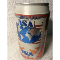 Lata Cerveja Vazia Ano 1997: Isa Premium Beer - 355ml