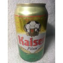Lata Cerveja Cheia Ano 1998: Kaiser Copa 98 355ml Fr Grátis