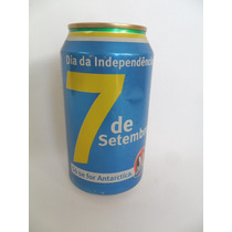 Lata Vazia Latinha Cerveja Antarctica 7 De Setembro