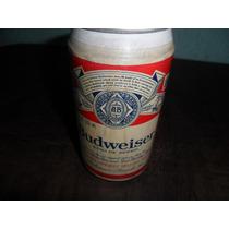 Lata De Cerveja Budweiser Antiga Cheia