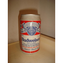 Lata Antiga Cerveja Budweiser 355cm3 Argentina