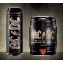 Barril Cerveja Alemã Ac/dc 5l Rock Or Bust - Pronta Entrega