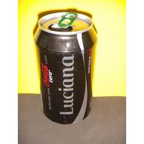 Lata Coca-cola Zero Nomes Luciana 2015 Rexam N166